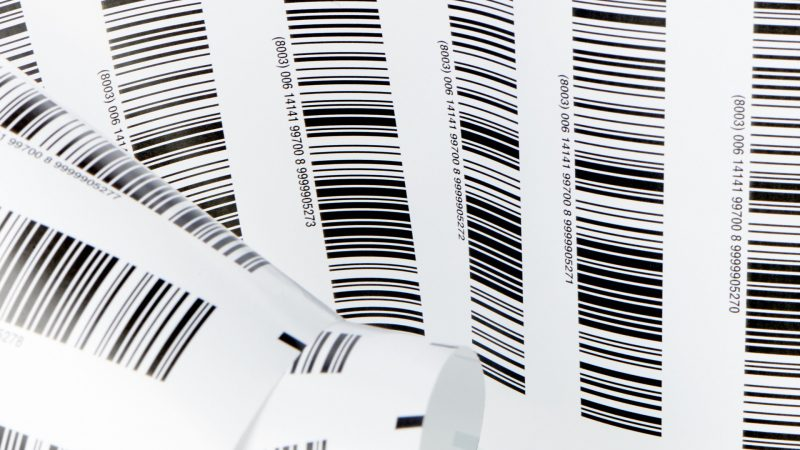 Barcodes labeling